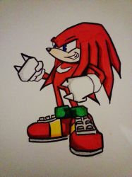 Knuckles by Roselillas