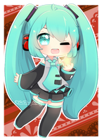 [FANART] STAR WISH MIKU by FluffyQueenz