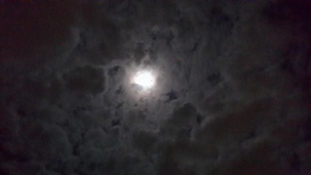 The Moon During Super Moon Days #1 by Sketch-Art-292002