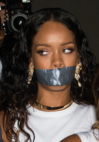 Rihanna Tape Gagged by micol123