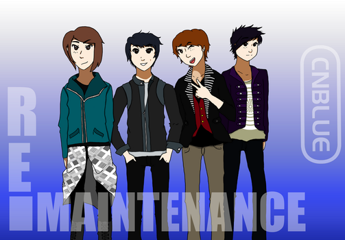 CNblue Re-maintenance by Last-Sheep