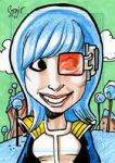 Sketch card prize by Sonion