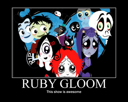 Ruby Gloom Motivation by BleckLovesTippi