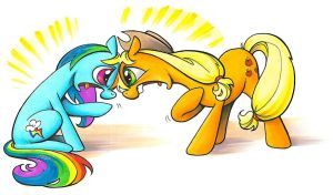 Tastes Great! Less Filling! My Little Pony... by andypriceart
