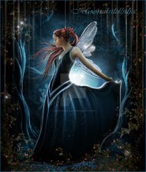 Moonlight fairy Magic.. by moonchild-ljilja