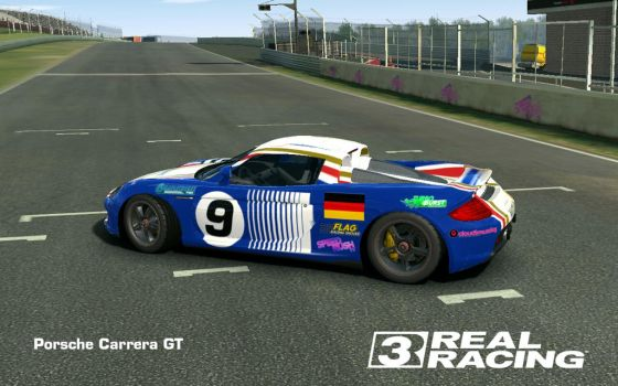 Carrera GT 'Rothmans 962C Tribute' by iceman-05