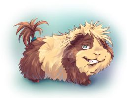 Cool Guinea Pig by Fany001