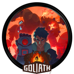 Whalebox Studio's Goliath Game Dock Icon by courage-and-feith