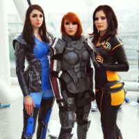 Mass Effect Ladies by GraceyDarling