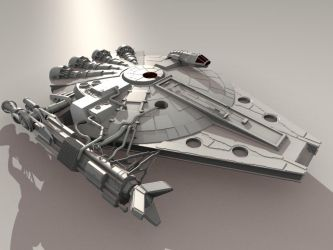 Jupiter Sparrow re-rendered by D-Mounty