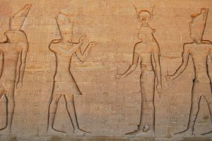 Egyptian Hieroglyphics 4 by mynando