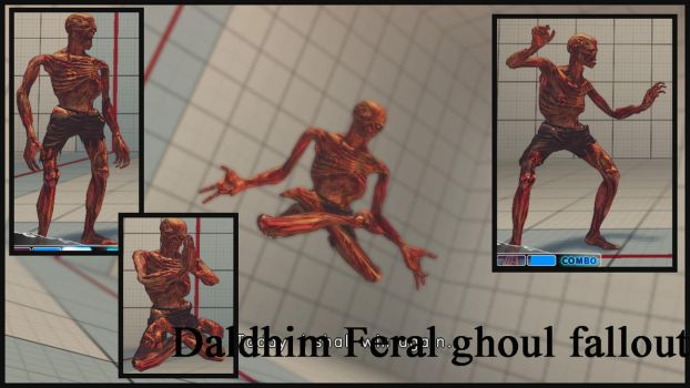Dalshim feral ghoul fallout by salimano3