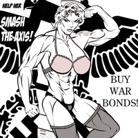 Help Her Smash the Axis! (Wreck-It Muscle) by IHCOYC