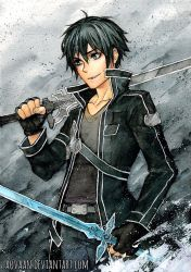 Sword Art Online - Kirito by Laovaan