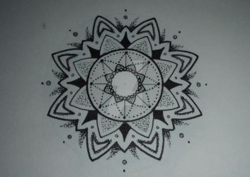 Mandala design #9 by MadPorcupine