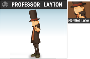 Professor Layton Smashified by ShinFurevindo