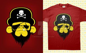 Pirate Monkey by monned