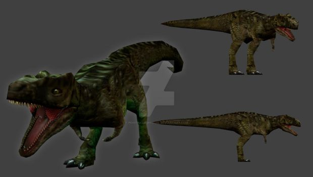 Carnivores Corporation : Tyrannosaurus omnipotens by PivotNazaOfficial