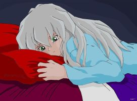 Ryou crying T_T by Freai