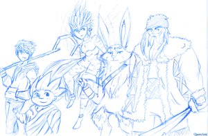 Rise of the Guardians by QueenArtic