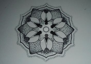 Mandala design #8 by MadPorcupine