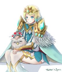 Fjorm, Princess of Ice by ippers-art