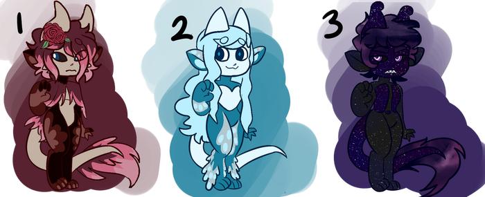 Aesthetic Themed Alumum Adopts (CLOSED) by SSSolitaire