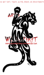 Climbing Tribal Panther Logo by WildSpiritWolf
