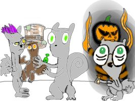 neuroticallyyours foamy the squirrel and germaine by