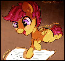 30minchallenge - Scootaloo's genealogy by Velexane