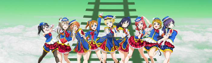 .:LoveLive! Sprite Edit - Aqours to u's: by QuietFooding