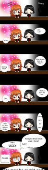 Lilly n Snape Comix by Raviozi