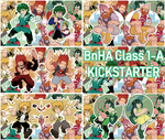 BnHA KICKSTARTER Class 1-A Charms by AllKindsOfYES