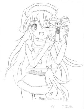 Merry Christmas from Shana! by SweetFallenAngell