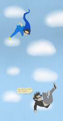 Catch Me Egbert by junko-in-the-box
