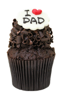 I Love Dad Cupcake by bubupoodle