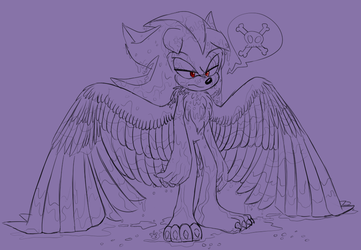 What's Wet And Angry All Over? by RavenTheMagicCat