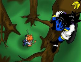 Up a tree lock break by HalloweenPanda