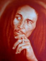 Bob Marley - very slow WIP by rageofreason