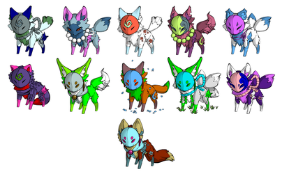 Fox Adopts (Lowered Prices by ChakramAdopts