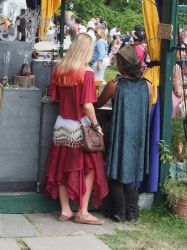 Ren Faire Patrons 2014 by TheMightyQuinn