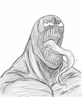 Venom sketch by eliaim