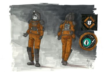 Space suit concept by mikopol