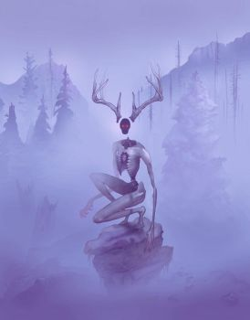 The Wendigo by gavin-valentine