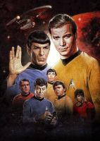 Star Trek Origins by PaulShipper