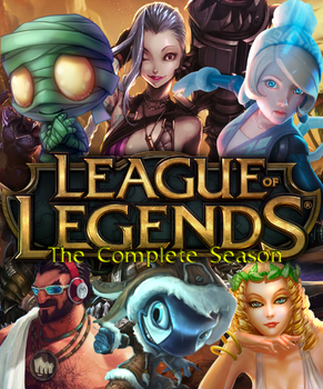 League of Legends DVD Cover by shadow0knight