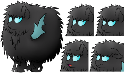 [Commission] #5 - Fluffy changeling by ZephyrForArt