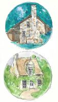 Little Houses by ambue