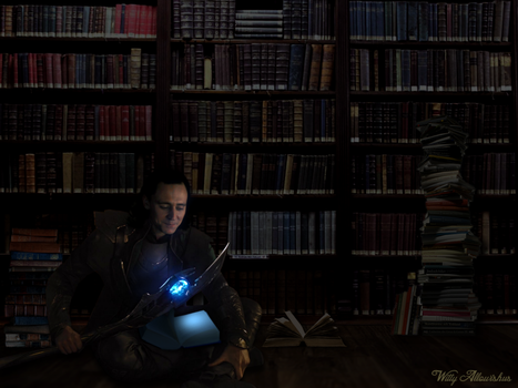 Loki's Library by Witty-Allowishus