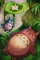 My Neighbor Totoro by Morigalaxy